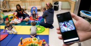 Kids Baby Sitter home CCTV Camera Installation Abu Dhabi - webnetech