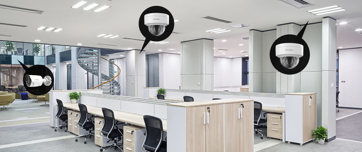 Offices and Business CCTV installation Abu Dhabi UAE- Webnetech