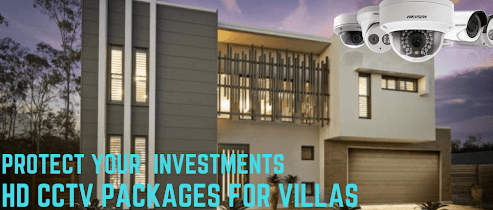 Villa Home apartment CCTV installation Abu Dhabi UAE- Webnetech