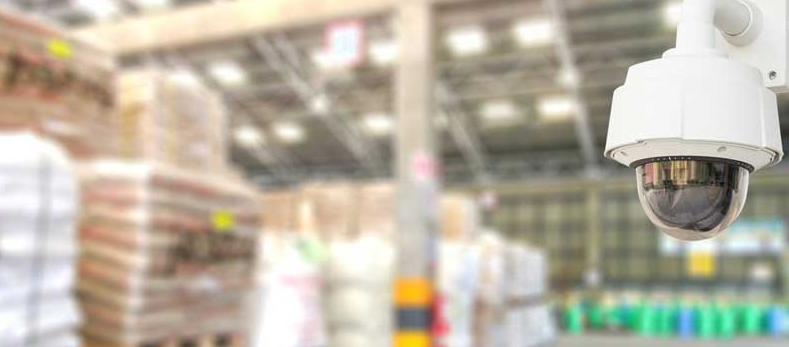 Warehouse CCTV installation in Abu Dhabi - Webnetech